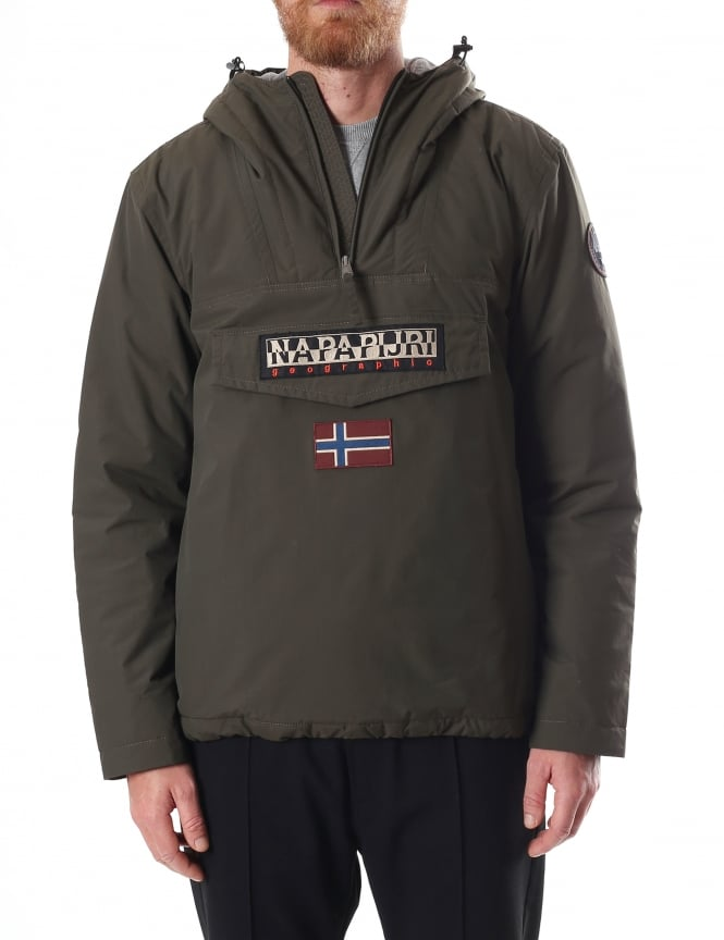 Napapijri Rainforest Men's Winter Pullover Anorak