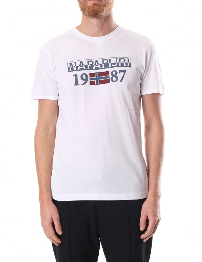 Napapijri Solin Men's Short Sleeve Tee