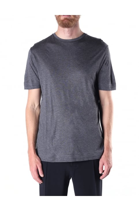 Men's Crew Neck Double Hem Tee