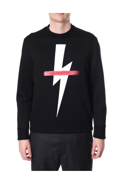 Men's Crossed Out Bolt Sweat Top