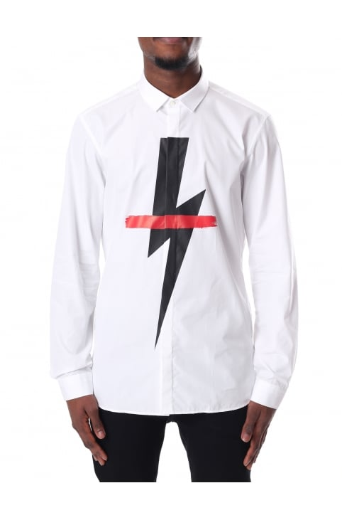 Men's Long Sleeve Crossed Out Bold Shirt