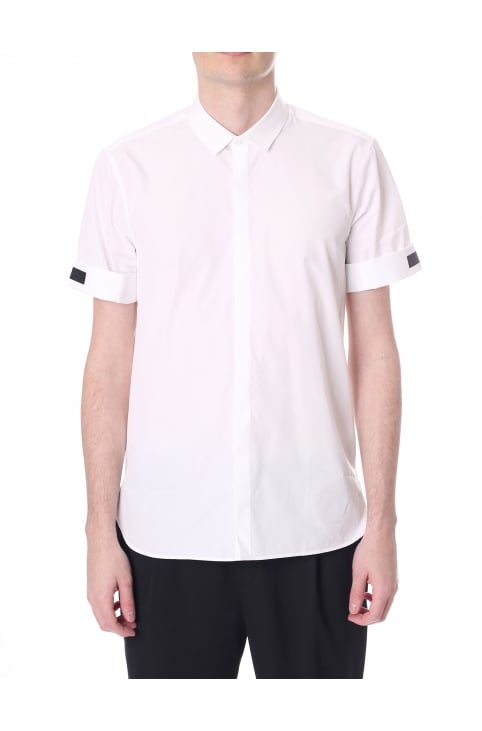 Men's Rolled Sleeve Shirt With Tape Detail