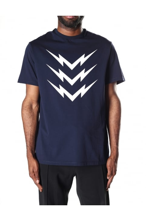 Men's Triple Mirrored Bolt Tee