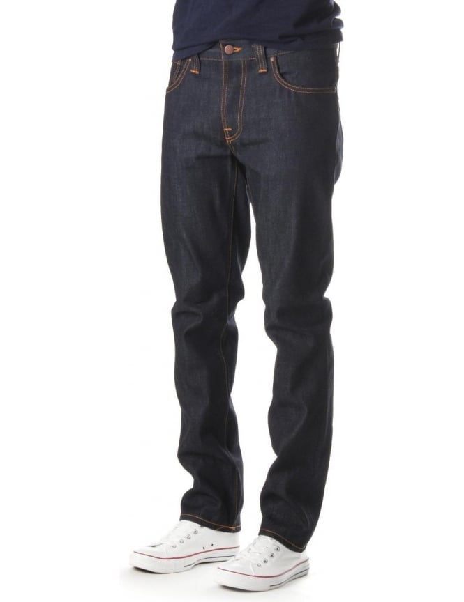 Nudie Jeans Grim Tim Men's Dry Ring Jean Indigo