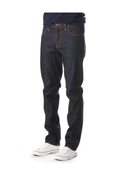Grim Tim Men's Dry Ring Jean Indigo