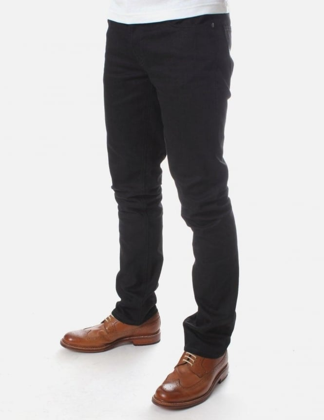 Nudie Jeans Grim Tim Org Ring wash Jean Black