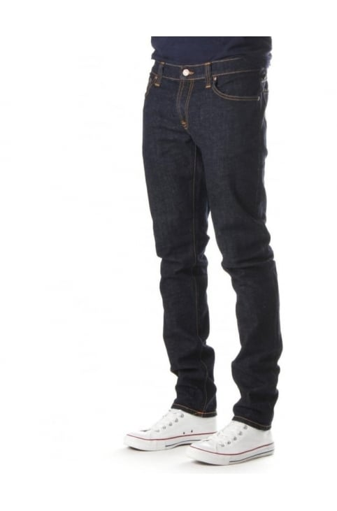 Tight Long John Men's Twill Rinsed Jean Indigo