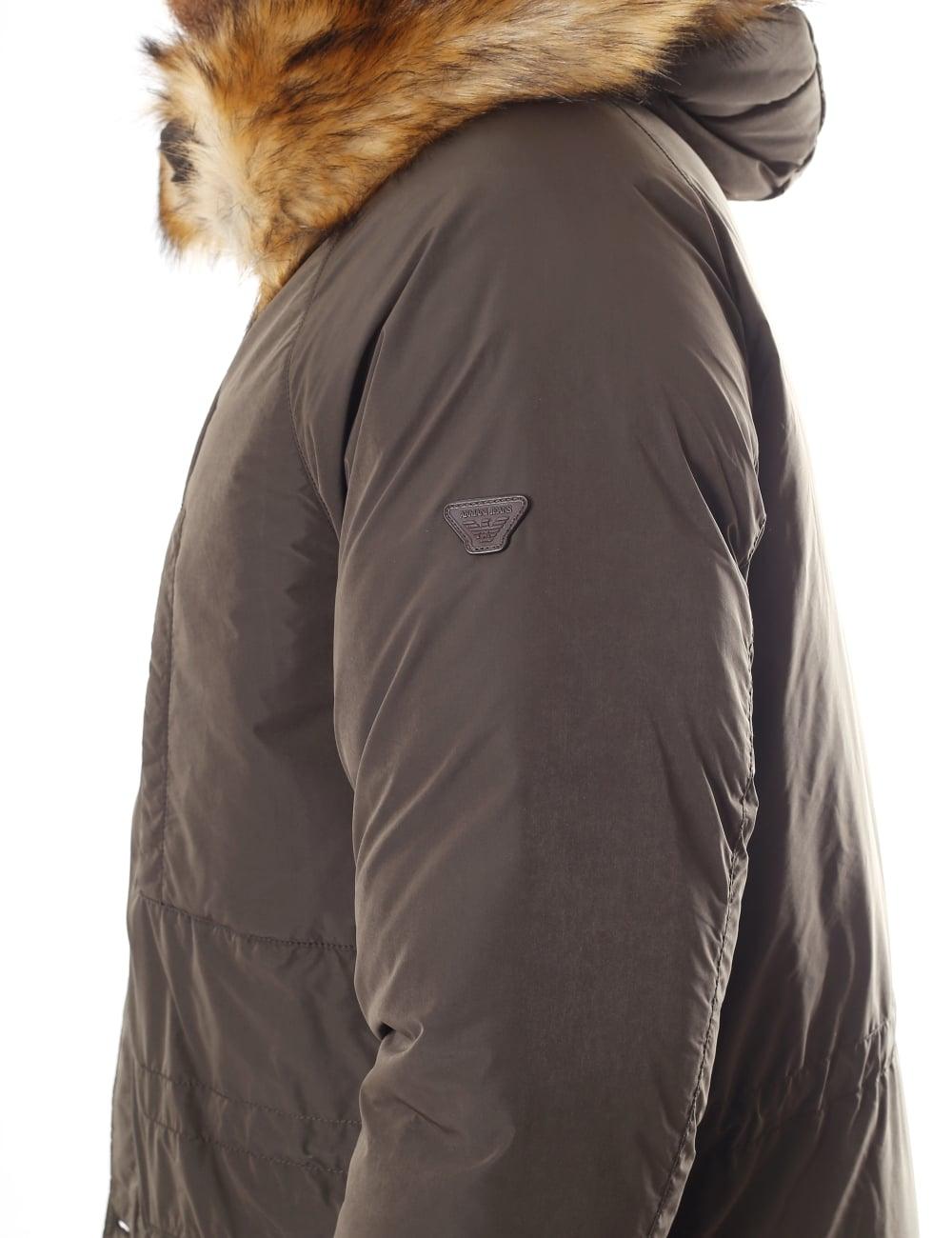 892d2e0d Armani Jeans Padded Men's Hooded Parka