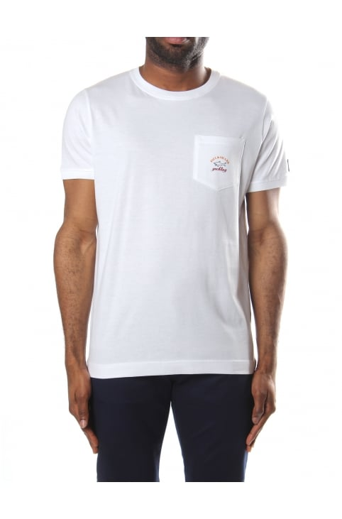 Crew Neck Men's Pocket Tee