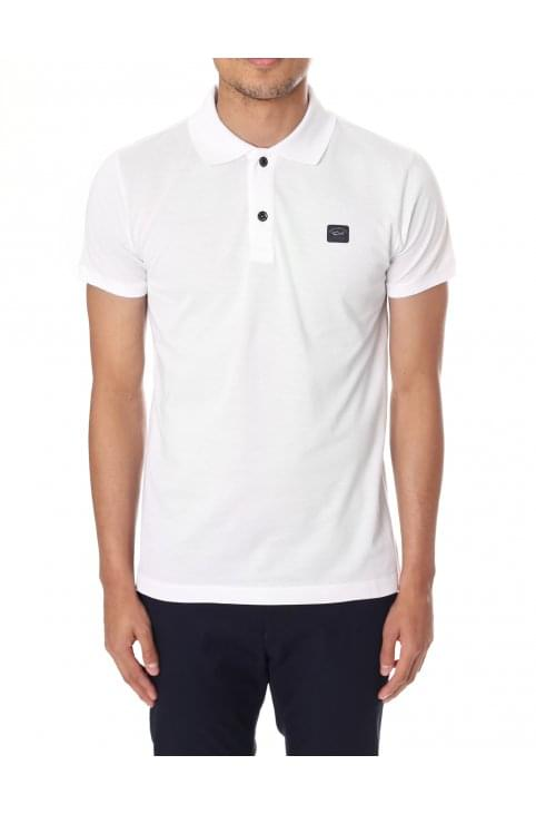 Men's Chest Patch Short Sleeve Polo Top