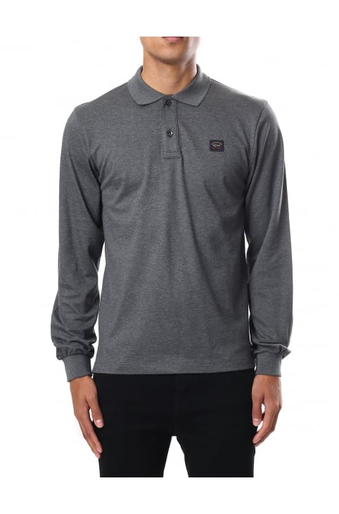 Men's Classic Long Sleeve Polo Top