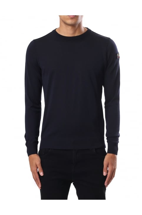 Men's Crew Neck Pullover Knit