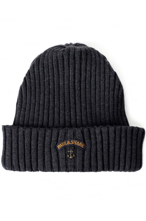 Men's Ribbed Knitted Beanie