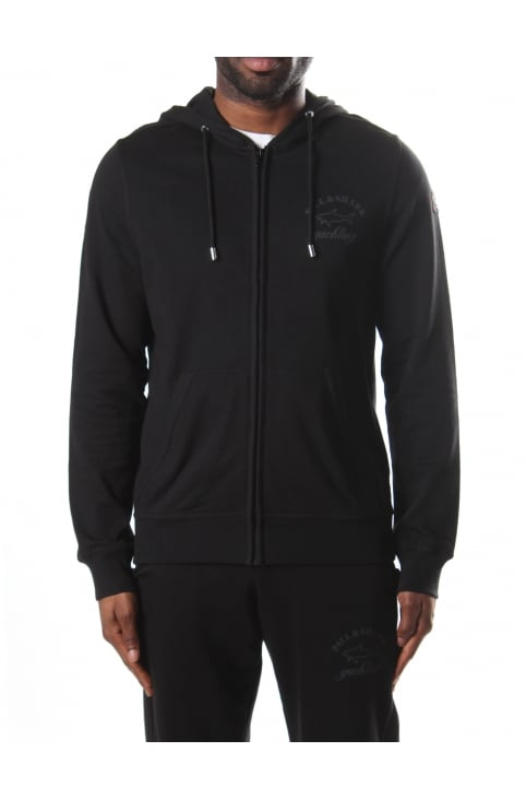 Zip Through Men's Hooded Sweat Top
