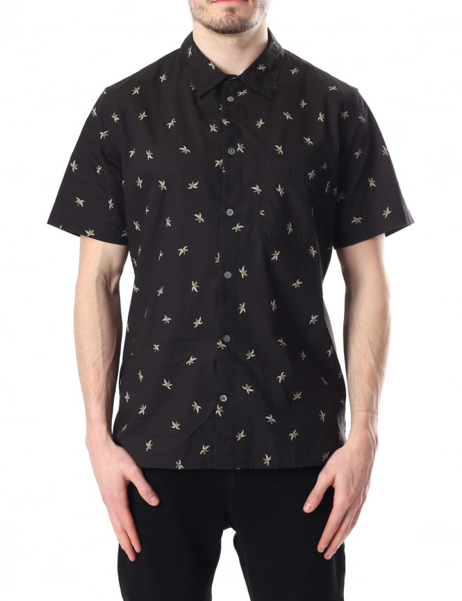 Paul Smith Banana Pattern Men's Short Sleeve Shirt