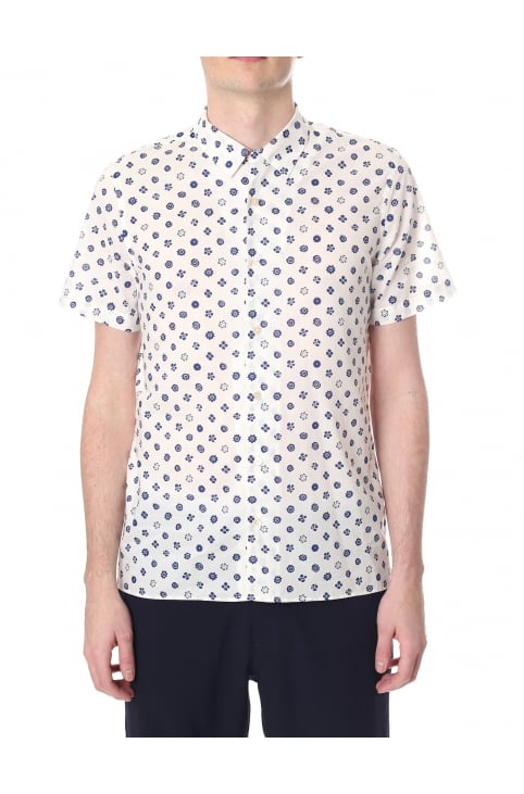 Casual Fit Men's Short Sleeve Shirt