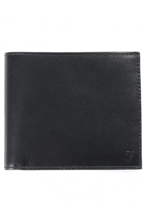 Coloured Edge Men's Billfold Wallet