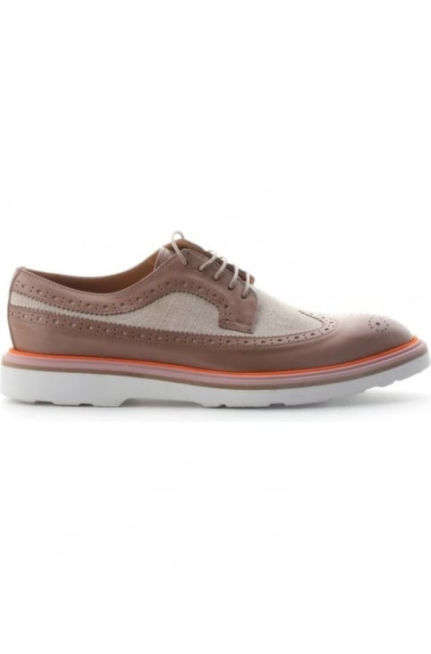 Contrast Trim Longwing Women's Brogue