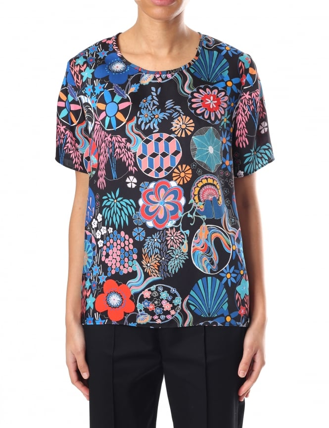 Paul Smith Enso Women's Floral Top