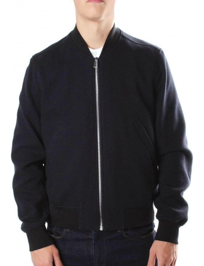 Paul Smith Men's Bomber Jacket Navy