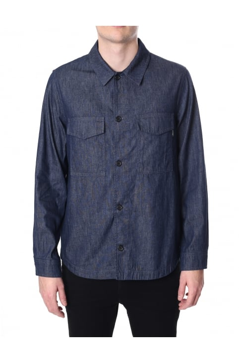 Men's Button Through Shirt Jacket