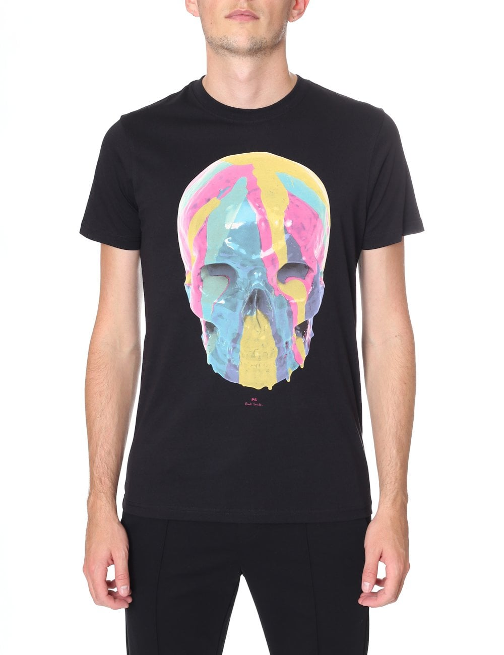 f4400ce456025 Paul Smith Men s Crew Neck Skull T-Shirt