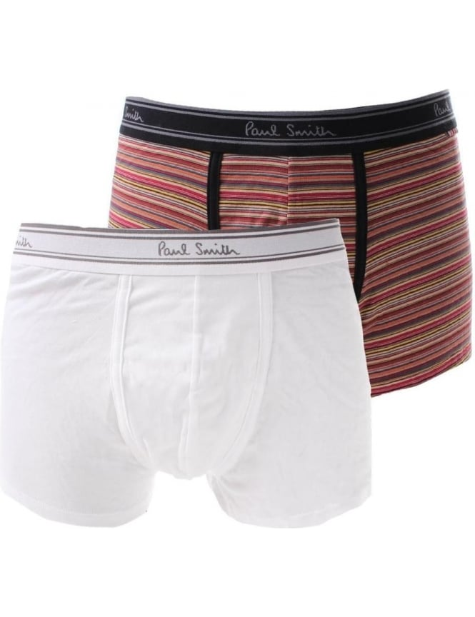Paul Smith Men's Logo Waist Band Two Pack Trunk