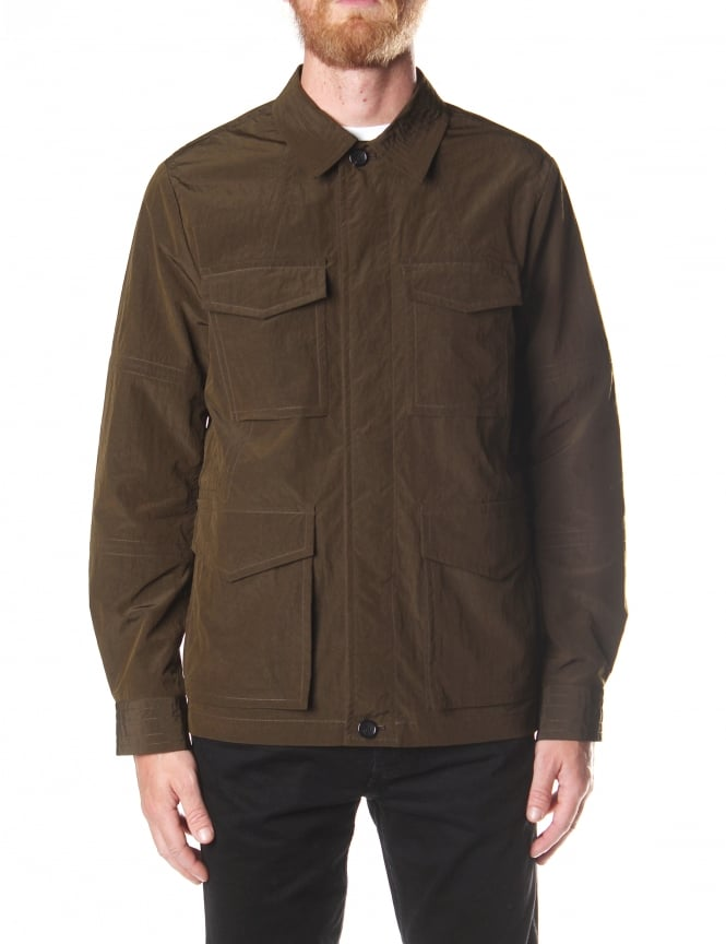 Paul Smith Men's Military Jacket