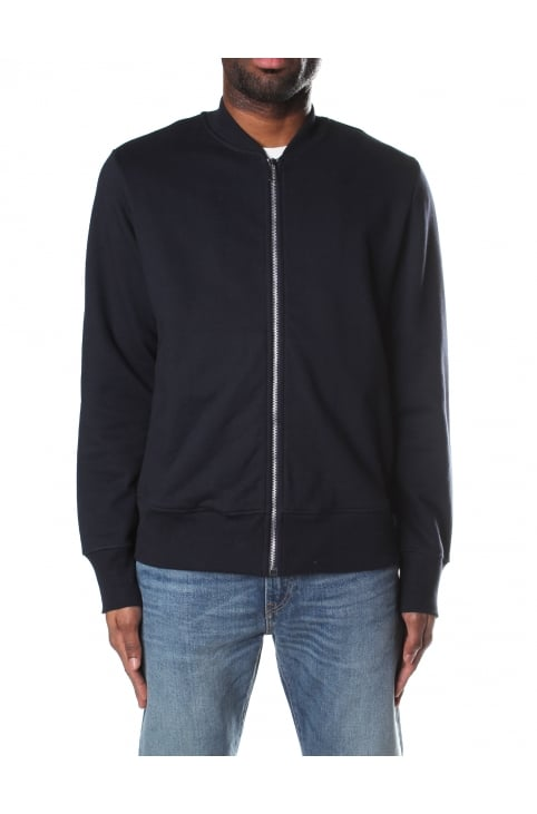 Men's Organic Cotton Zip Through Sweat Top