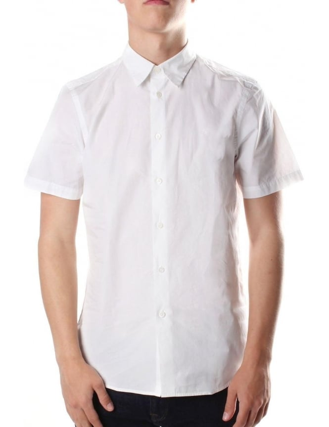 Paul Smith Men's Short Sleeve Tailored Fit Shirt