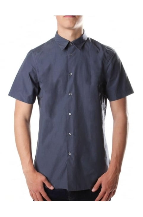 Men's Short Sleeve Tailored Fit Shirt Ink
