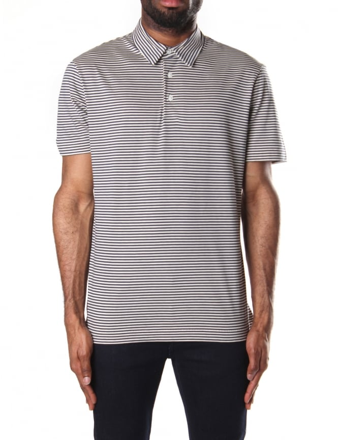 Paul Smith Men's Slim Fit Short Sleeve Polo Top