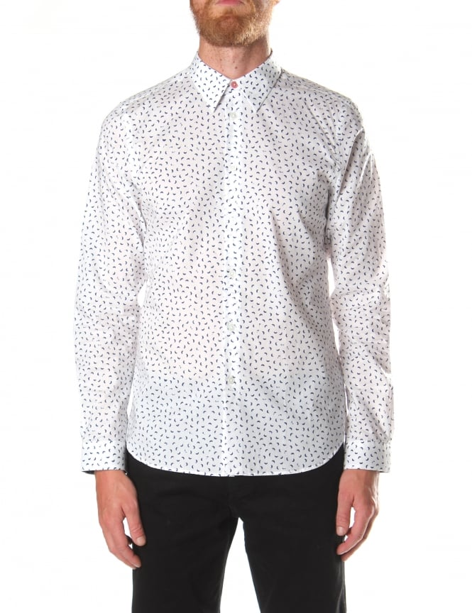 Paul Smith Men's Tailored Fit Long Sleeve Shirt