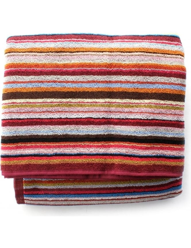 61d7eaf5ab8 Multi Stripe Beach Towel Burgundy