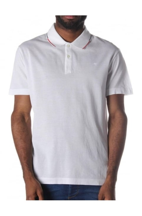 Slim Fit Men's Short Sleeve Polo Top