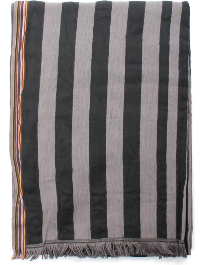 Paul Smith Striped Simple Men's Scarf