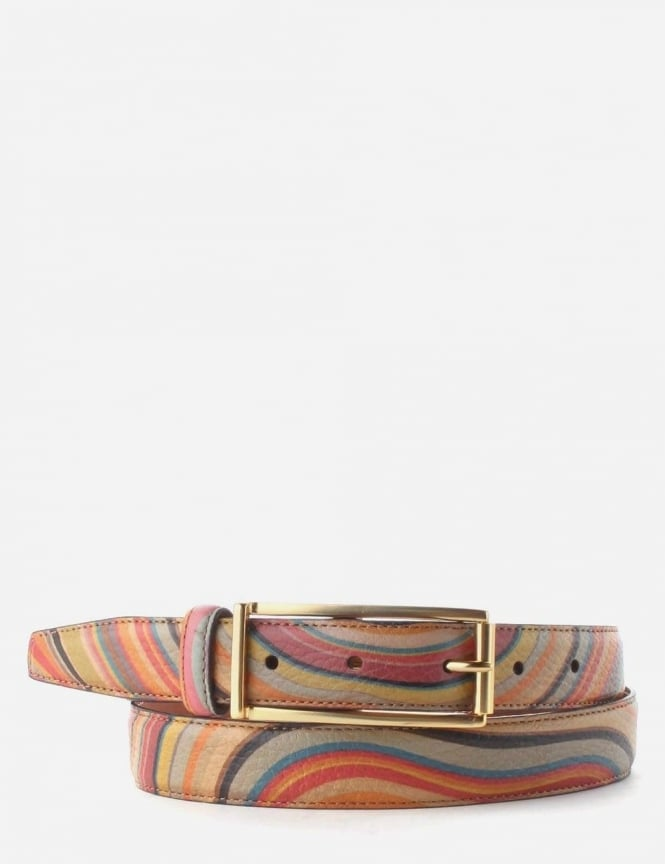 Paul Smith Swirl Pattern Women s Belt Multi cd176ee9bf