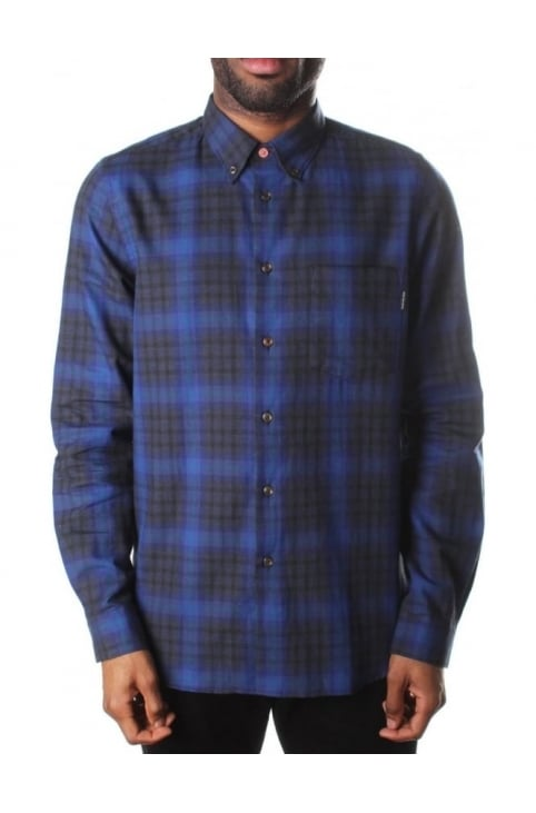 Tailored Fit Men's Check Shirt