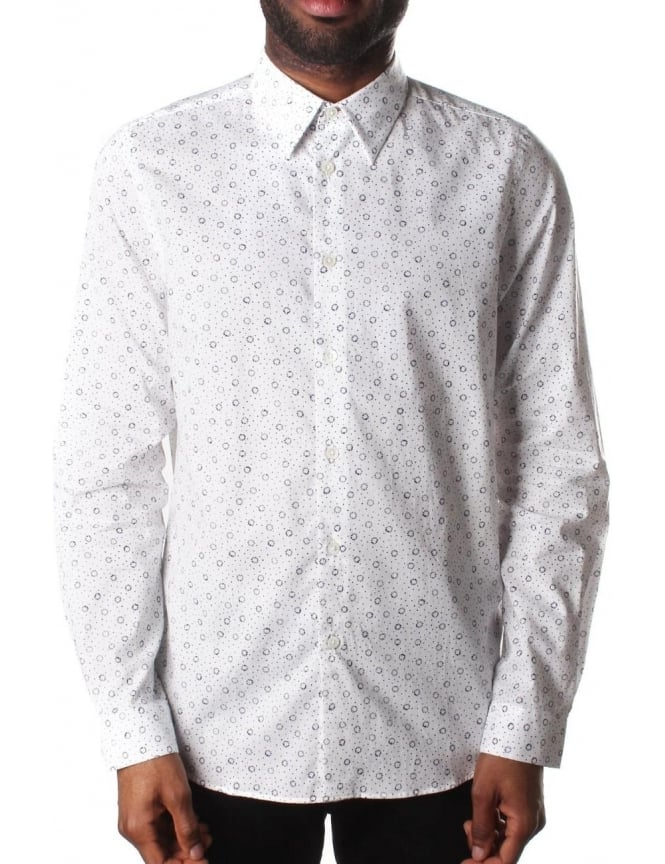 Paul Smith Tailored Fit Men's Printed Shirt