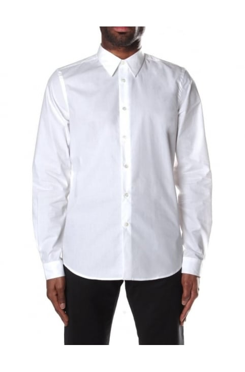 Tailored Long Sleeve Men's Poplin Shirt