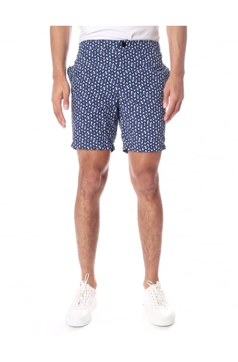 Tailored Men's Long Length Swim Shorts
