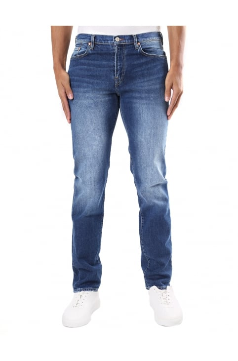 Tapered Fit Men's Comfort Stretch Jeans