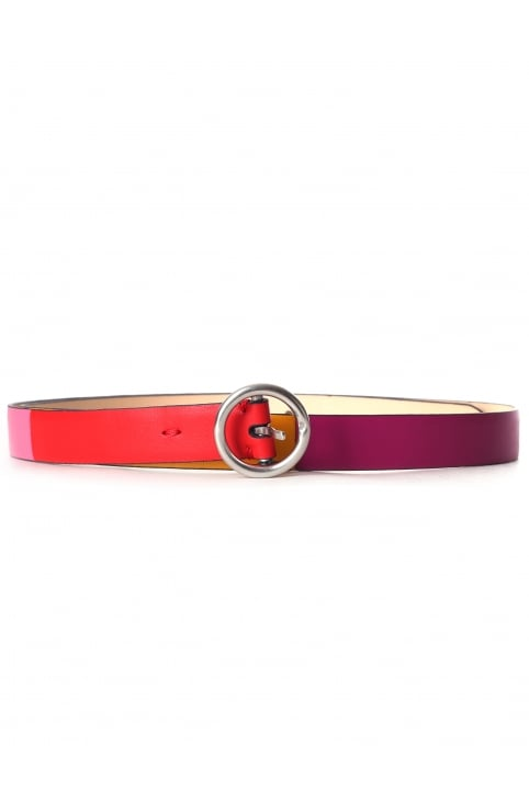 Women's Colour Block Stripe Belt
