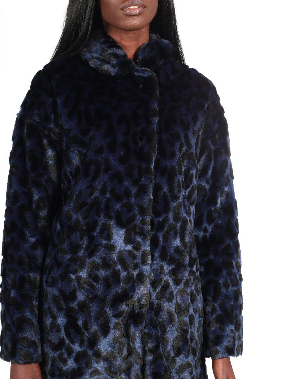 Paul Smith Women's Faux Fur Leopard Jacket