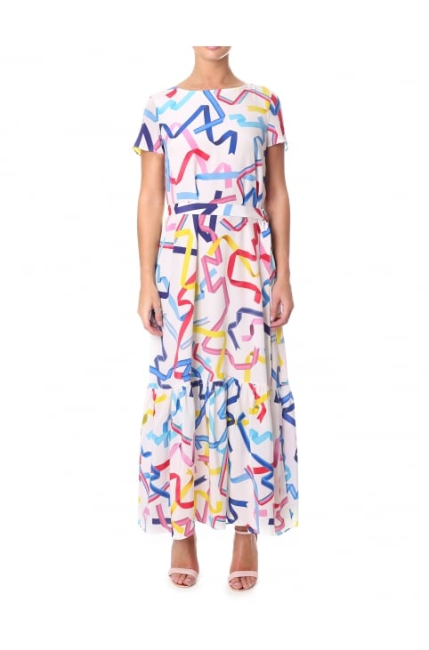Women's Ribbon Maxi Dress