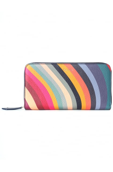 Women's Swirl Zip Around Purse