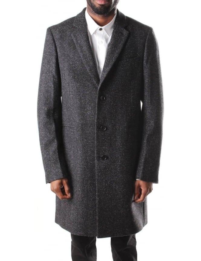 Paul Smith Wool Blend Men's Overcoat