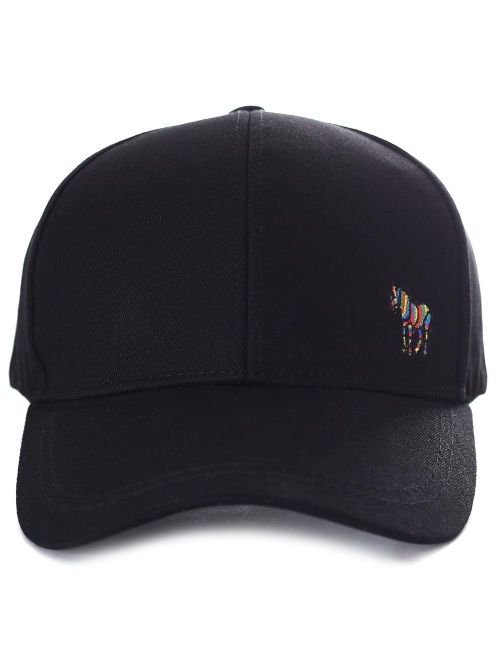 Paul Smith Zebra Logo Men s Baseball Cap Black 9961d9e063d