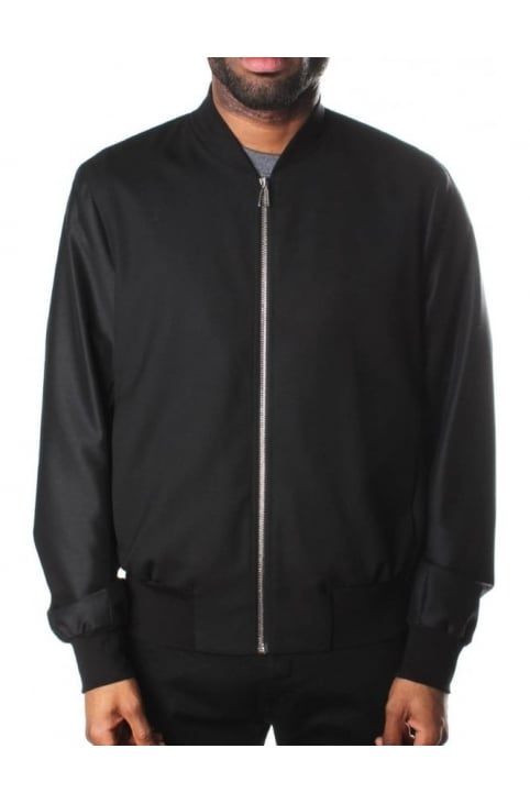 Zip Through Men's Bomber Jacket