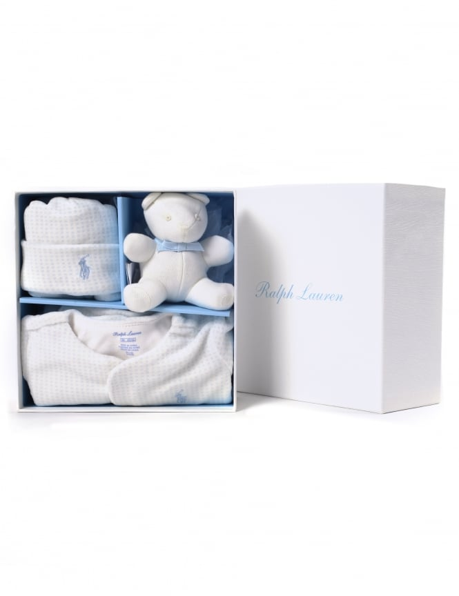 80e046a382233 Polo Ralph Lauren Baby Boy 3 Piece Gift Box